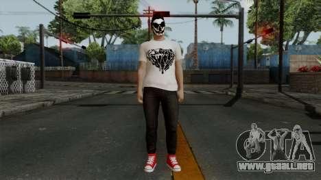 GTA 5 Online Wmydrug para GTA San Andreas segunda pantalla