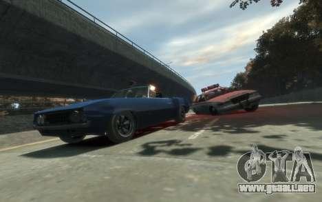 Declasse Vigero Cabrio para GTA 4 Vista posterior izquierda