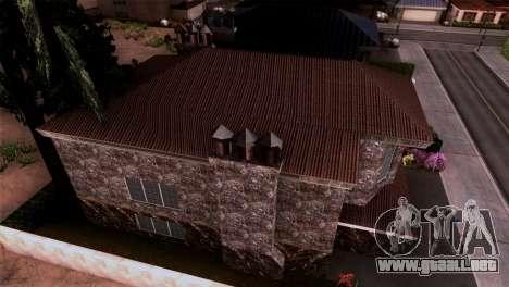 La mansión en el estilo de Scarface para GTA San Andreas tercera pantalla