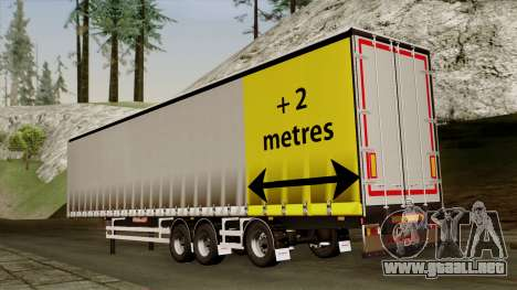 Trailer 15 meters para GTA San Andreas left