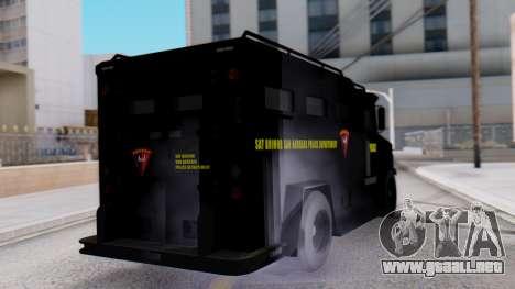 GTA 5 Enforcer Indonesian Police Type 1 para GTA San Andreas left