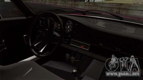 Porsche 911 Carrera RS 2.7 Sport (911) 1972 IVF para la visión correcta GTA San Andreas