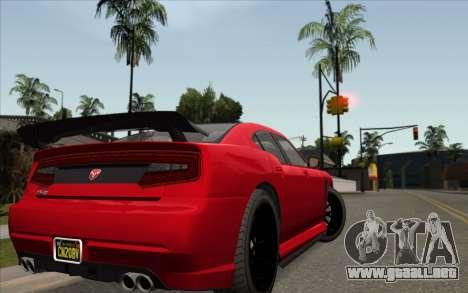 ENBSeries For Low PC v5.0 para GTA San Andreas quinta pantalla