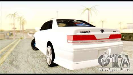 Toyota Mark 2 JZX 100 para GTA San Andreas left