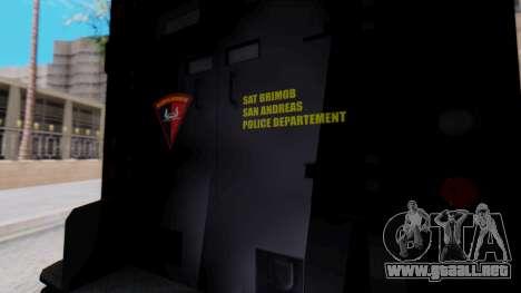 GTA 5 Enforcer Indonesian Police Type 1 para la visión correcta GTA San Andreas