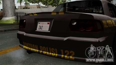 Indonesian Police Type 1 para visión interna GTA San Andreas