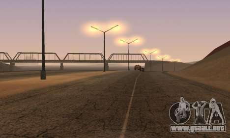 Las luces de San Fierro, Las Venturas para GTA San Andreas