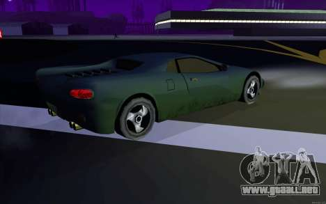 GTA 3 Infernus SA Style v2 para la visión correcta GTA San Andreas