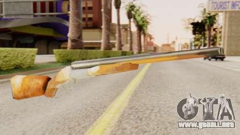 La versión completa de doble escopetas para GTA San Andreas