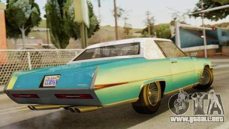 GTA 5 Albany Manana IVF para GTA San Andreas left