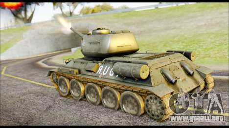Real 102 Rudy Poland Tanks para GTA San Andreas