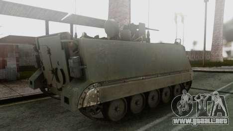 PGZ-95 Radar (Type 95) para GTA San Andreas left