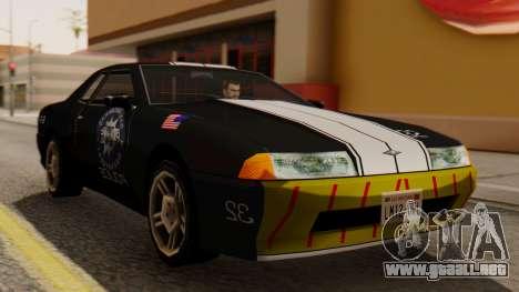 Elegy Police Edition para GTA San Andreas