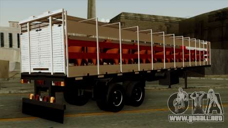 Trailer Cows para GTA San Andreas left