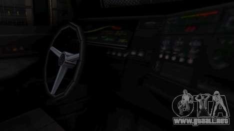 GTA 5 Enforcer Indonesian Police Type 1 para GTA San Andreas vista posterior izquierda