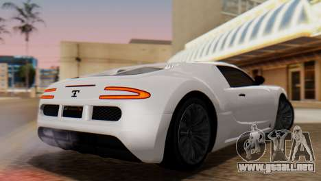 GTA 5 Adder Tire Dirt para GTA San Andreas left