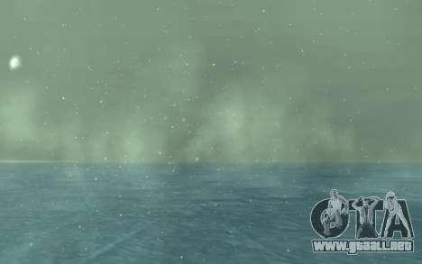 Invierno Timecyc para GTA San Andreas sexta pantalla
