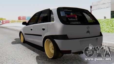 Opel Corsa Air para GTA San Andreas left