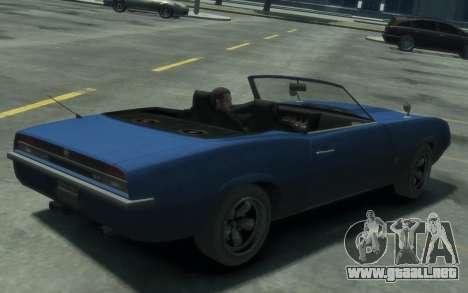 Declasse Vigero Cabrio para GTA 4 left