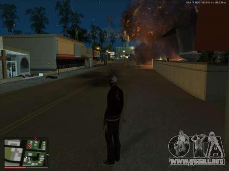 Locura en el estado de San Andreas. La Beta. para GTA San Andreas segunda pantalla