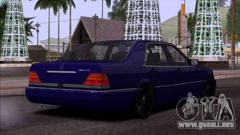 Mercedes-Benz S600 W140 para GTA San Andreas interior
