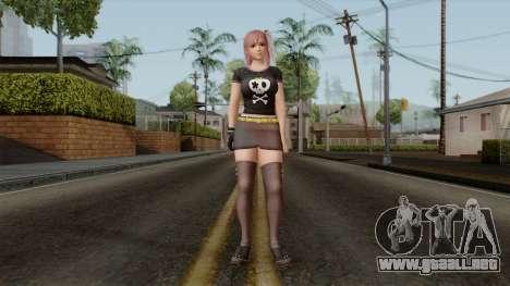 RE Dead Or Alive 5LR - Honoka C5 para GTA San Andreas segunda pantalla