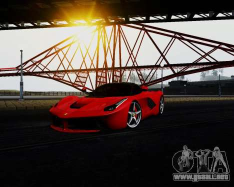 ENB for Low PC para GTA San Andreas sucesivamente de pantalla