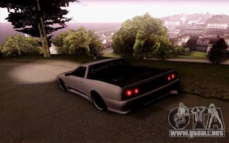 Elegy Pickup By Next para GTA San Andreas left