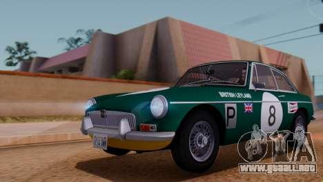 MGB GT (ADO23) 1965 HQLM para vista lateral GTA San Andreas