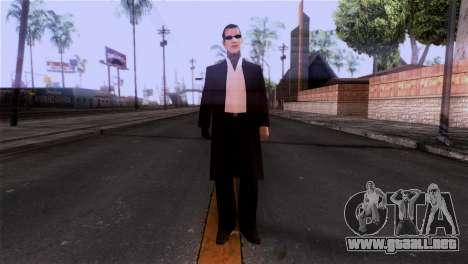 La piel de la mafia para GTA San Andreas segunda pantalla