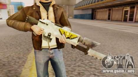 Warhammer M4 para GTA San Andreas tercera pantalla