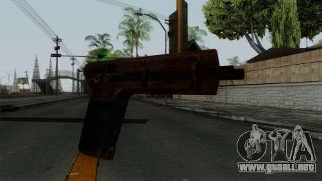 Samopal para GTA San Andreas segunda pantalla