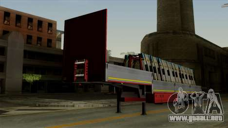 Flatbed3 Red para GTA San Andreas