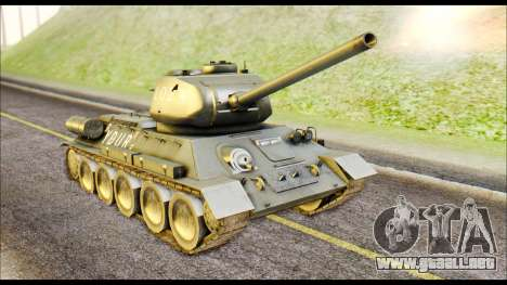 Real 102 Rudy Poland Tanks para GTA San Andreas left