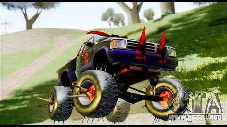 Predaceptor Monster Truck (Saints Row GOOH) para GTA San Andreas