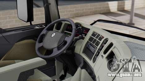 Renault Premuim 4x2 para la visión correcta GTA San Andreas