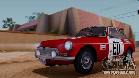 MGB GT (ADO23) 1965 HQLM para la vista superior GTA San Andreas