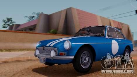 MGB GT (ADO23) 1965 HQLM para vista inferior GTA San Andreas