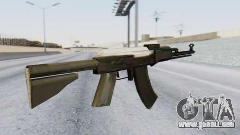 Arsenal AKM para GTA San Andreas segunda pantalla