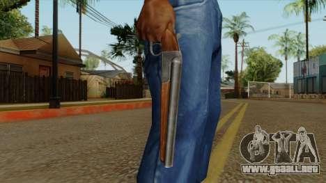 Original HD Sawnoff Shotgun para GTA San Andreas tercera pantalla