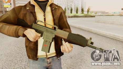 SPAS 15 para GTA San Andreas tercera pantalla