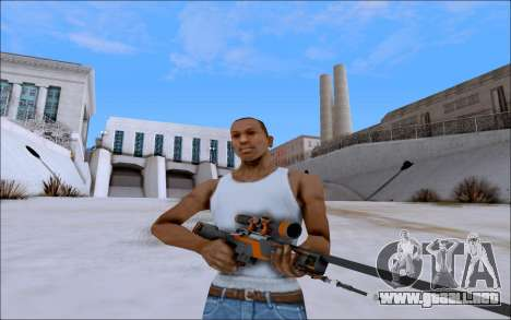 AWP Carbone Edition para GTA San Andreas