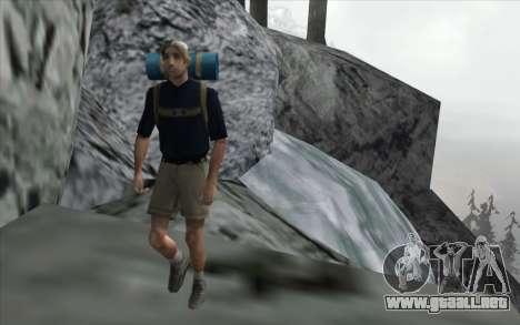 La cascada de v0.1 Beta para GTA San Andreas