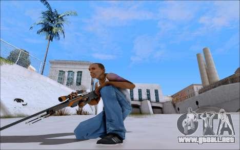 AWP Carbone Edition para GTA San Andreas tercera pantalla