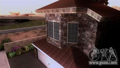 La mansión en el estilo de Scarface para GTA San Andreas sucesivamente de pantalla