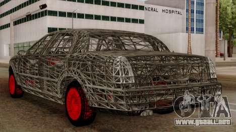 Kerdi Design Washington Roll Cage para GTA San Andreas vista hacia atrás