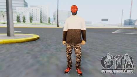 Ballas3 para GTA San Andreas segunda pantalla