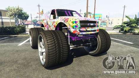 Vapid The Liberator Sticker Bomb v2.0f para GTA 5