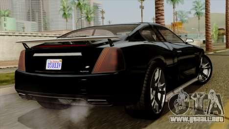 GTA 5 Albany Alpha v2 IVF para GTA San Andreas left