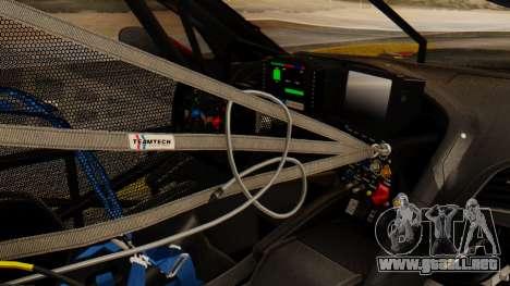Chevrolet Corvette C7R GTE 2014 PJ2 para la visión correcta GTA San Andreas